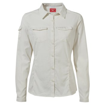 NosiLife Adventure II Long-Sleeved Shirt - Sea Salt
