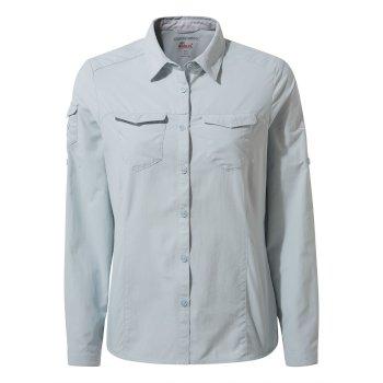 NosiLife Adventure II Long-Sleeved Shirt - Mineral Blue