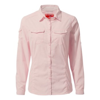 Women's Insect Shield® Adventure II Long-Sleeved Shirt - Seashell Pink