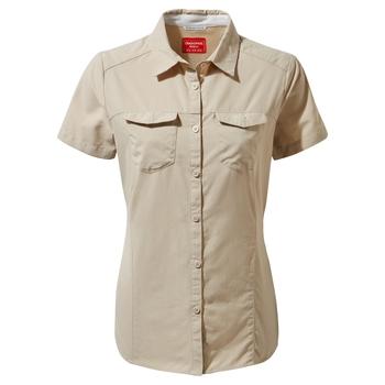 NosiLife Adventure II Short-Sleeved Shirt  - Desert Sand