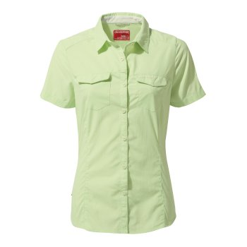 ba6048abda9 NosiLife Adventure II Short-Sleeved Shirt - Soft Pistachio
