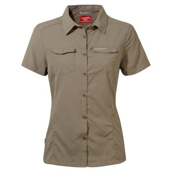 NosiLife Adventure II Short-Sleeved Shirt  - Mushroom