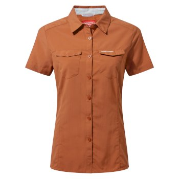 NosiLife Adventure II Short-Sleeved Shirt  - Toasted Peacan
