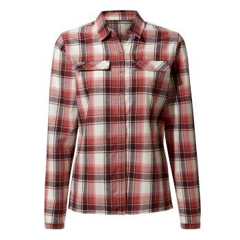 Dauphine Long-Sleeved Shirt - Rosette Check