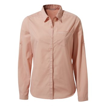 Women's Kiwi II Long-Sleeved Shirt - Corsage Pink
