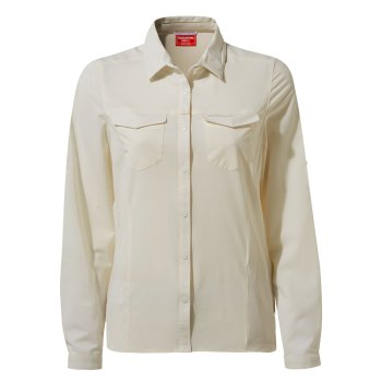 Women's Insect Shield® Pro III Long-Sleeved Shirt - Sea Salt