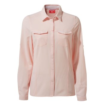 Women's Insect Shield® Pro III Long-Sleeved Shirt - Seashell Pink