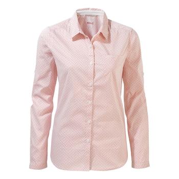 NosiLife Verona II Long-Sleeved Shirt - Rosette Print