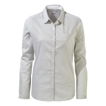 NosiLife Verona II Long-Sleeved Shirt - Bush Green Print