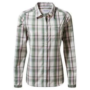 Kiwi II Long Sleeved Shirt - Sage Check