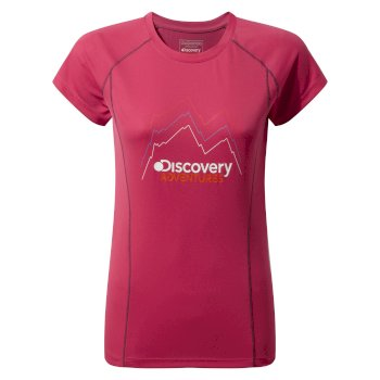 Discovery Adventures T-shirt Electric Pink