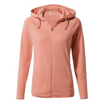 Women's Insect Shield® Sydney Hooded Top - Rosette