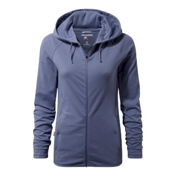 Women's Insect Shield® Sydney Hooded Top - China Blue
