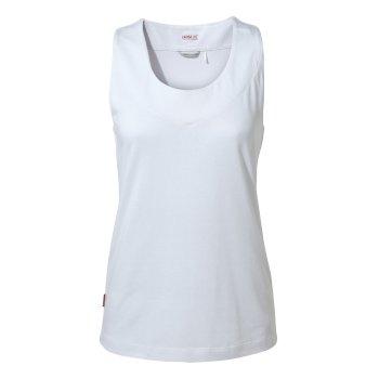 NosiLife Allesa Vest Top - Optic White