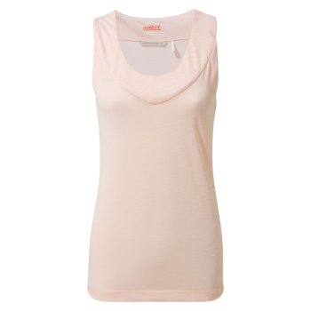 Insect Shield Allesa Vest Top - Seashell Pink