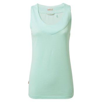 Insect Shield Allesa Vest Top - Capri Blue