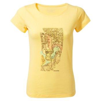 Cornelia Tree Landscape T-Shirt Buttercup