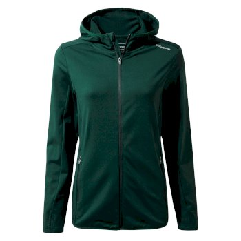 Winter Trail Hooded Top - Mountain Green