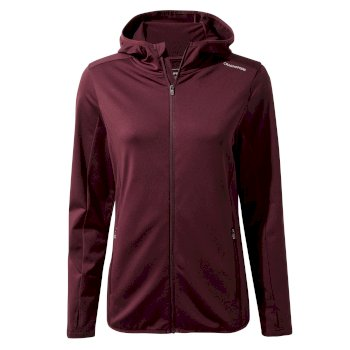 Winter Trail Hooded Top - Wildberry