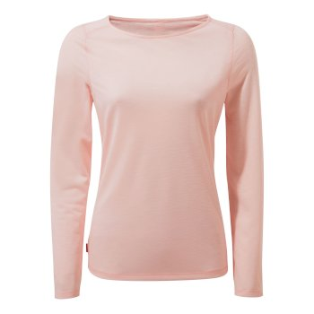 NosiLife Erin II Long-Sleeved Top  - Seashell Pink