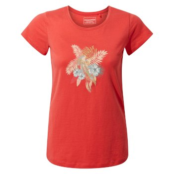 Lima Short Sleeved T-Shirt - Rio Red Parakeet