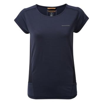 Atmos Short Sleeved T-Shirt - Blue Navy