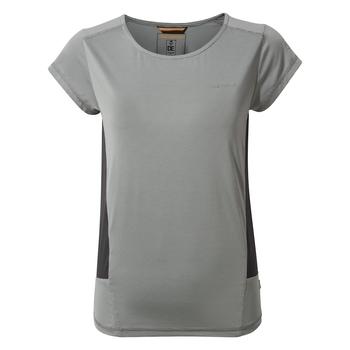 Atmos Short Sleeved T-Shirt - Light Cloud Grey