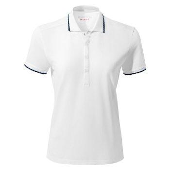 NosiLife Lina Short Sleeved Polo - Optic White