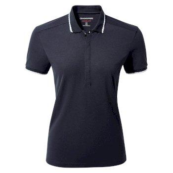 NosiLife Lina Short Sleeved Polo - Blue Navy