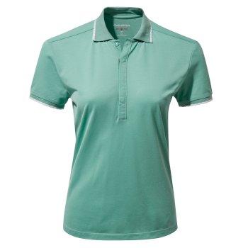 NosiLife Lina Short Sleeved Polo - Sea Breeze