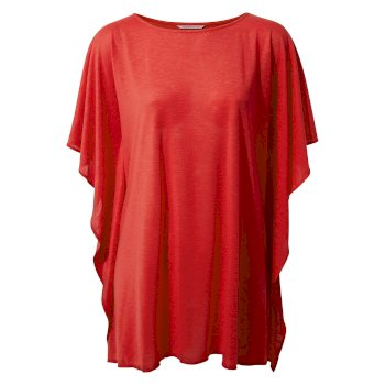 Insect Shield® Lola Kaftan - Rio Red