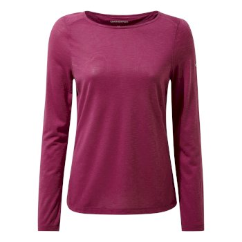 NosiLife Erin Long Sleeved Top - Baton Rouge Slub