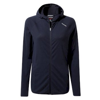 Women's Insect Shield® Nilo Hooded Top - Blue Navy