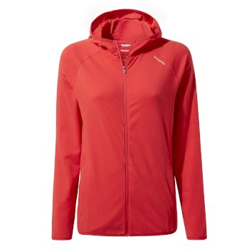 Women's Insect Shield® Nilo Hooded Top - Rio Red