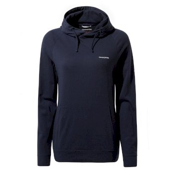 Women's Insect Shield® Alandra Hooded Top - Blue Navy