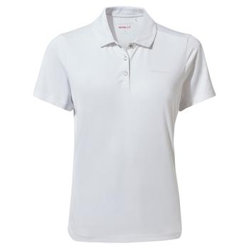 Nosilife Pro Short Sleeved Polo - Optic White