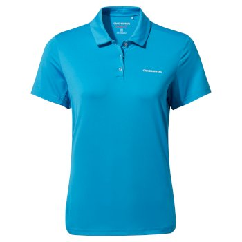 Nosilife Pro Short Sleeved Polo - Mediterranean Blue