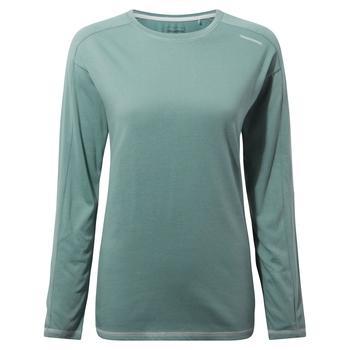 Dynamic Long Sleeved T-Shirt - Stormy Sea