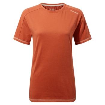 Dynamic Short Sleeved T-Shirt - Warm Ginger