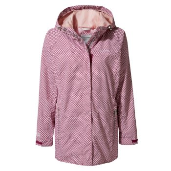 Women's Madigan Classic II Jacket - Azalia Pink Print