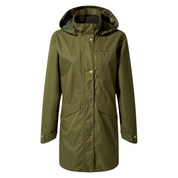 Aird Jacket       - Parka Green