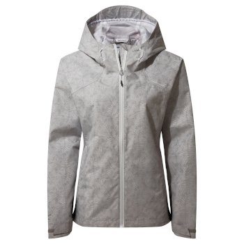 Women's Toscana Jacket - Dove Grey Print