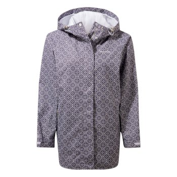 Oriana Jacket     - Blue Navy Print