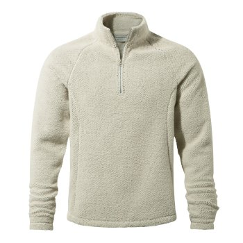 Barston Half-Zip Fleece - Ecru