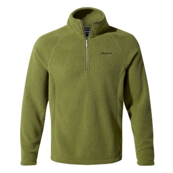 Barston Half-Zip Fleece - Buffalo Green