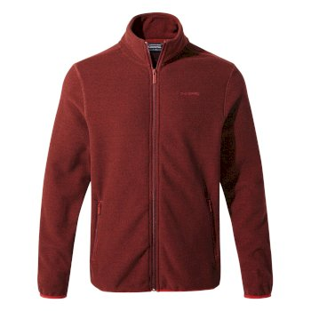 Cleland Fleece Jacket   - Firth Red