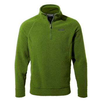Cason Half-Zip - Agave Green