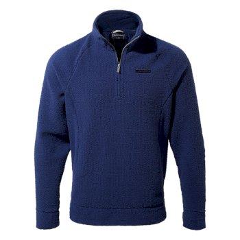 Cason Half-Zip - Lapis Blue