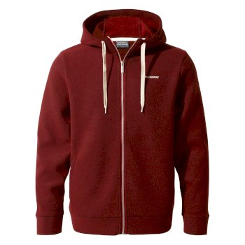 Guida Fleece Jacket     - Garnet Red