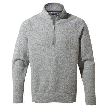 Nestor Half Zip - Cloud Grey